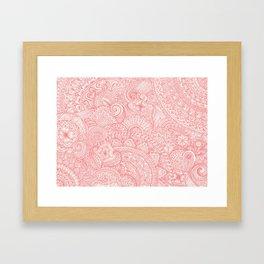 Pinktangle Framed Art Print