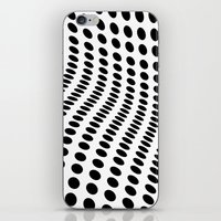 wave iPhone & iPod Skins featuring Wave by fly fly away