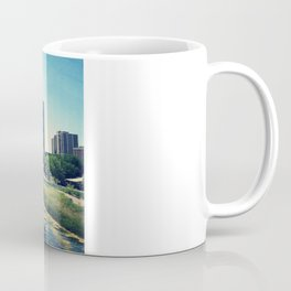 Pond Inside Concrete Jungle  Coffee Mug