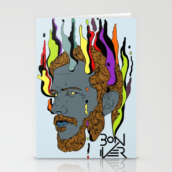 Bon Iver Stationery Cards