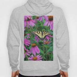 495 - Butterfly and Flowers Hoody