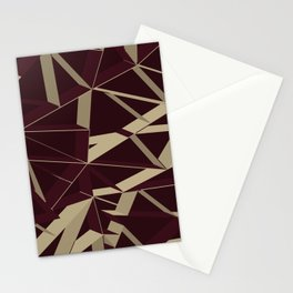 3D Futuristic GEO VIII Stationery Cards
