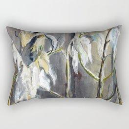 Milkweed Silk Rectangular Pillow