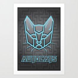 Autocats Transformers Art Print