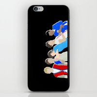 one direction iPhone & iPod Skins featuring One Direction by Natasha Ramon