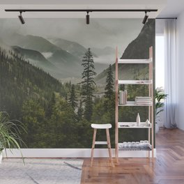 Mountain Valley of Forever Wall Mural