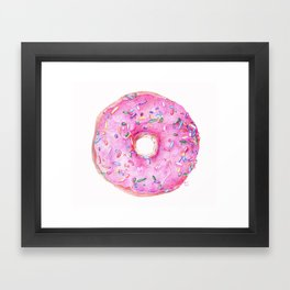 DONUT!!!! Framed Art Print