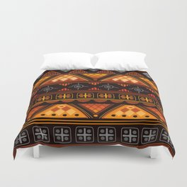 Modern Native American Pattern Duvet Cover