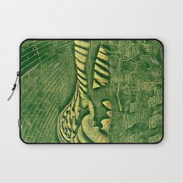 6778s-NLJ Motherboard Style Nude Woman Hand On Back Laptop Sleeve