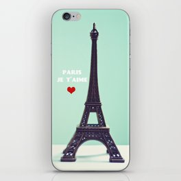 Paris Je T'aime iPhone Skin