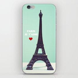Paris Je T'aime iPhone Skin