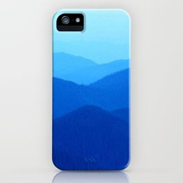 Hunter Mountain Spring iPhone Case