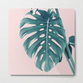 Monstera Delight #3 #tropical #decor #art #society6 Metal Print