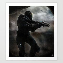 The Covenant is on Reach Art Print