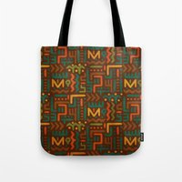 african Tote Bags featuring African by Arcturus