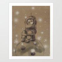 Eight's Thinking Spot Art Print