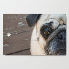Just a Pug Cutting Board