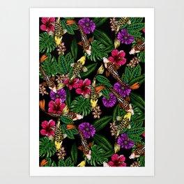 Tropical Koi Art Print