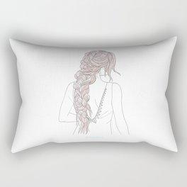 ROSEBRAID Rectangular Pillow