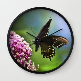 Butterfly VII Wall Clock
