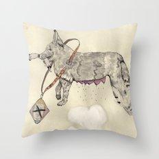 Love: A Bitch Throw Pillow