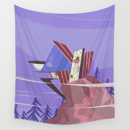 House of the future! Wall Tapestry