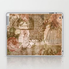 Vintage & Shabby Chic- Victorian ladies pattern Laptop & iPad Skin