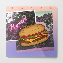 Burgerz Metal Print