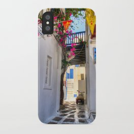 Greece Santorini Island iPhone Case