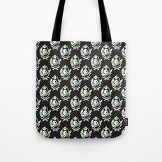 Wolf Skull Pattern Tote Bag