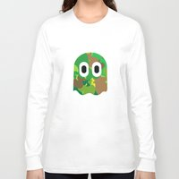 camo Long Sleeve T-shirts featuring Camo Blinky by Andreas Spyropoulos