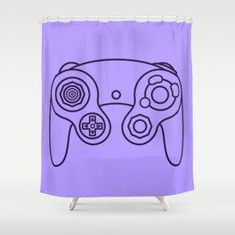 Gamecube controller - Retro style! Shower Curtain