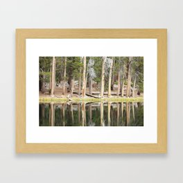 High Country Mirror Framed Art Print