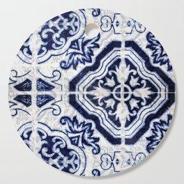 Azulejo VI - Portuguese hand painted tiles Cutting Board