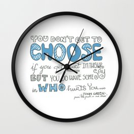 You don't Get to Choose Wall Clock