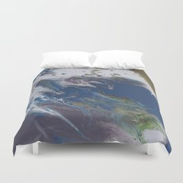 El Baile Fluid Abstract Duvet Cover