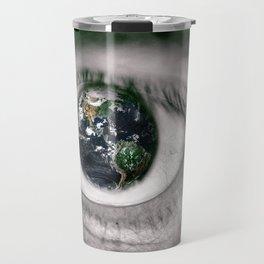 Die Welt mit deinen Augen sehen ! Travel Mug
