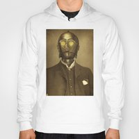 creepy Hoodies featuring Baron Von Three PO  by Terry Fan