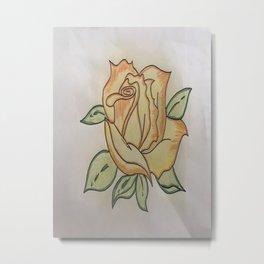 Een roos voor vallentyn Metal Print