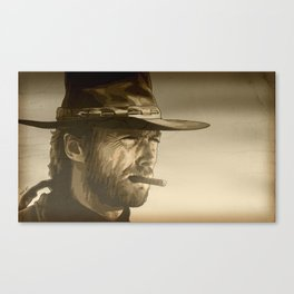The Man With No Name Canvas Print