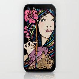 Tribal Artist iPhone Skin