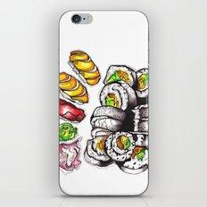 Sushi Dinner. iPhone & iPod Skin
