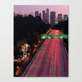 Los Angeles Metropolis Gateway II Canvas Print