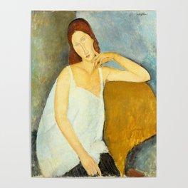 "Amedeo Modigliani ""Jeanne Hebuterne"" Poster"