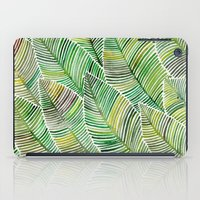 tropical iPad Cases featuring Tropical Green by Cat Coquillette