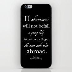Jane Austen Northanger Abbey iPhone Skin