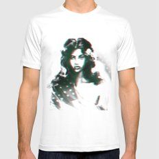 Untitled.2 MEDIUM Mens Fitted Tee White