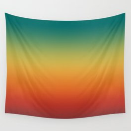 Colorful Trendy Gradient Pattern Wall Tapestry