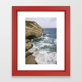 Cape Farewell Framed Art Print
