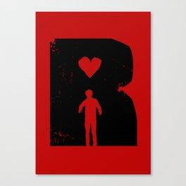 Dead Romantic Canvas Print